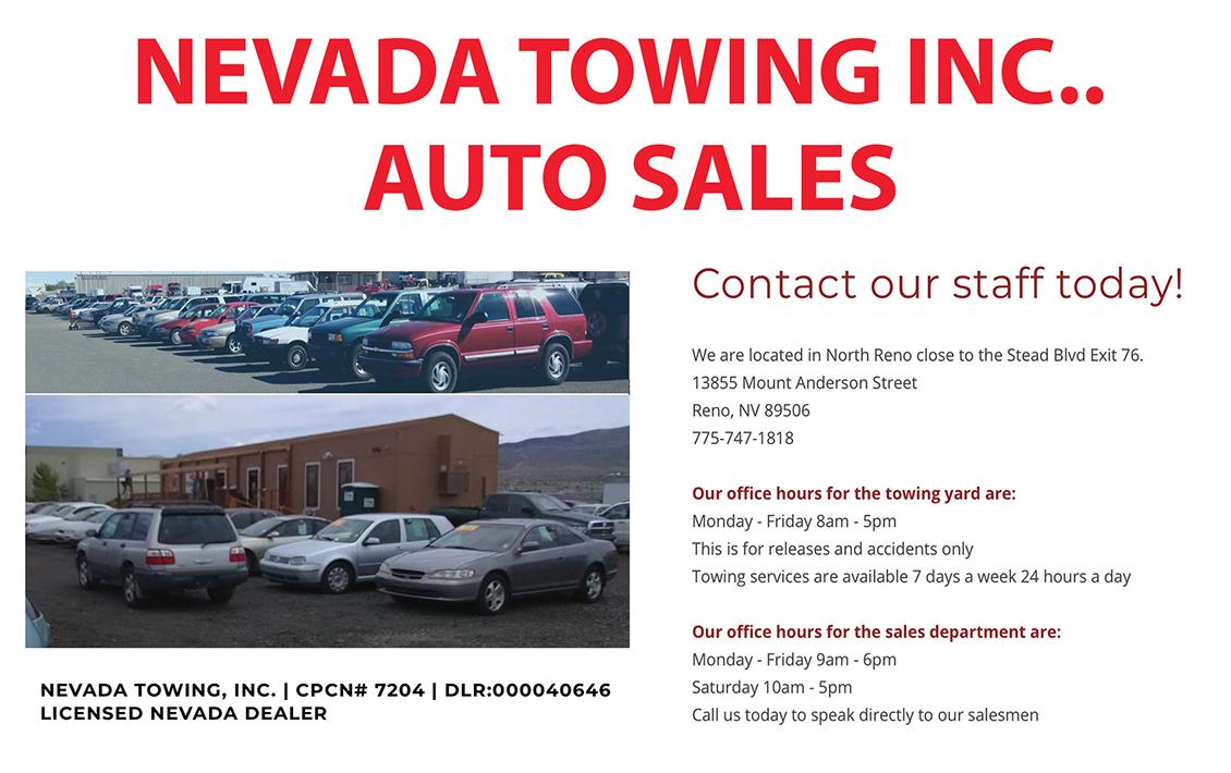 Nevada Tow